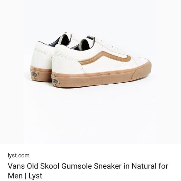 acbf676b44 Vans Old Skool gum sole sneaker. M 5a68c800f9e501b4d41a841d